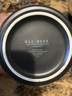 Rae Dunn Ceramic Spice Jar set with wood tops Thumbnail