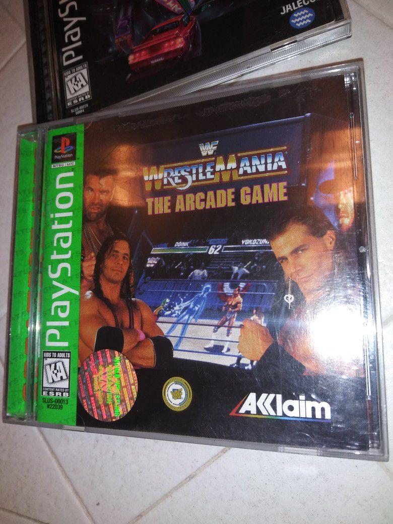 Wrestlemania The Arcade Game Ps1