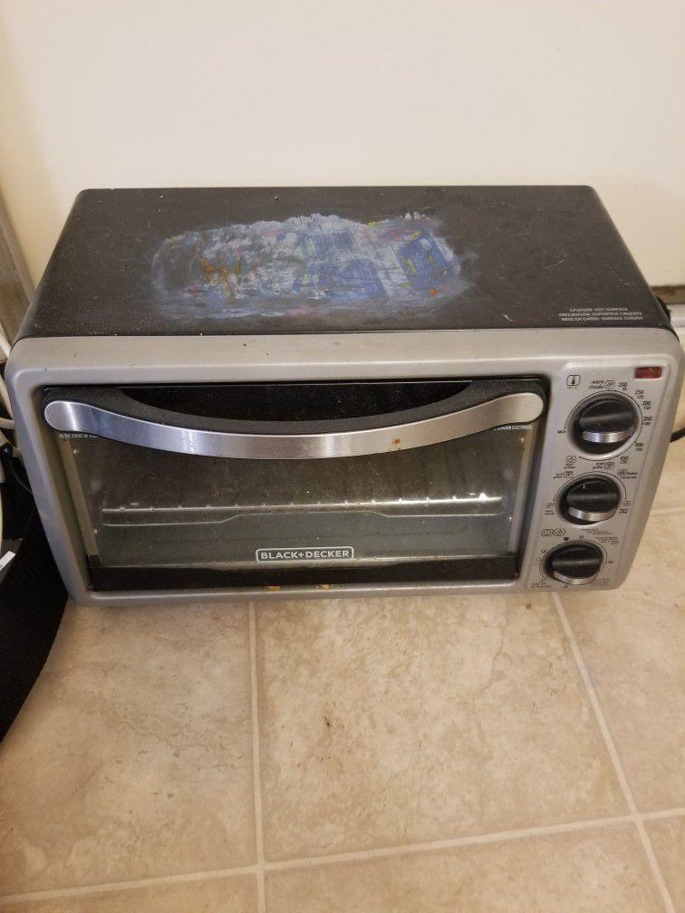Toaster Oven Black + Decker