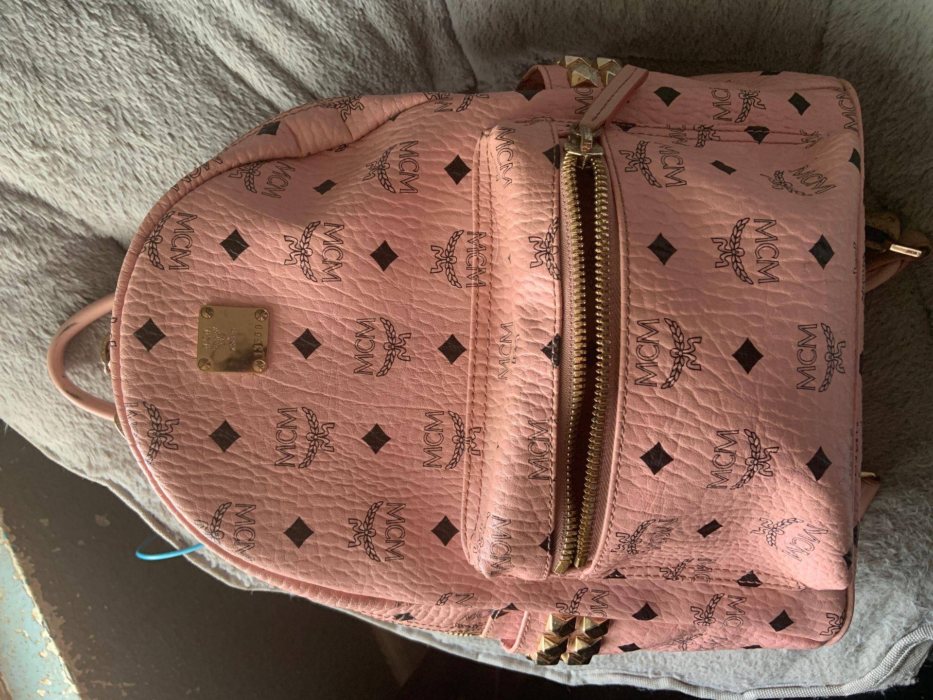 MCM- Stark Studded Backpack