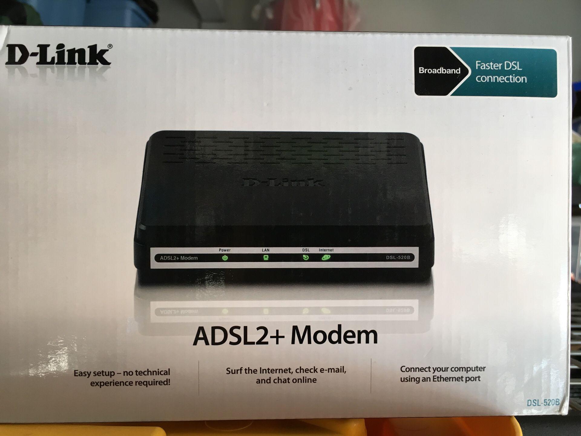 D-Link ADSL + Modem