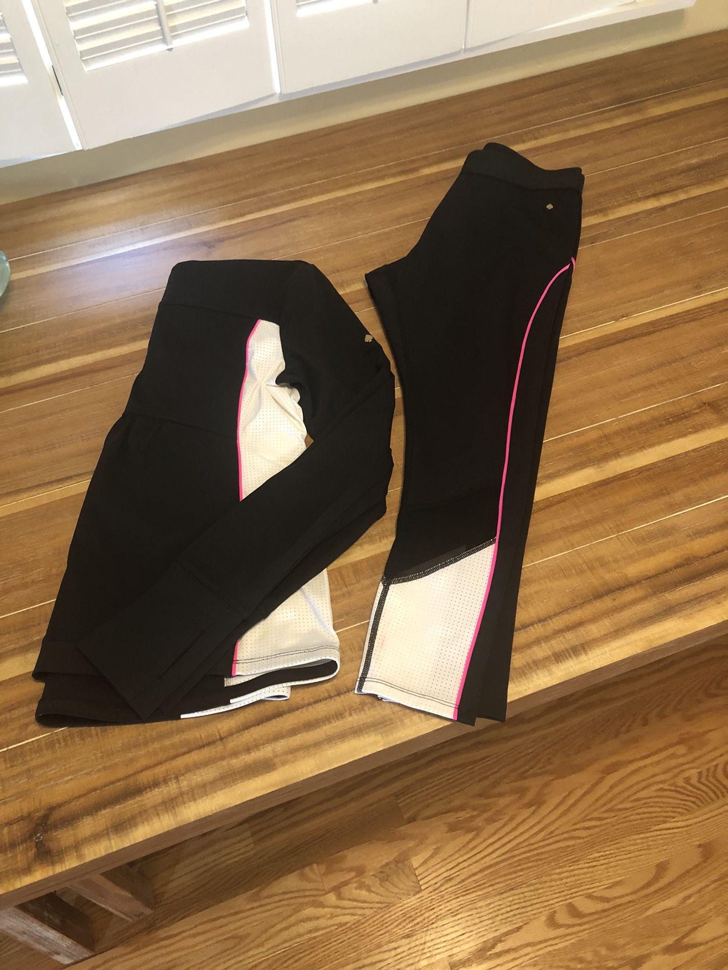 Kate Spade Athletic Jacket and Leggings