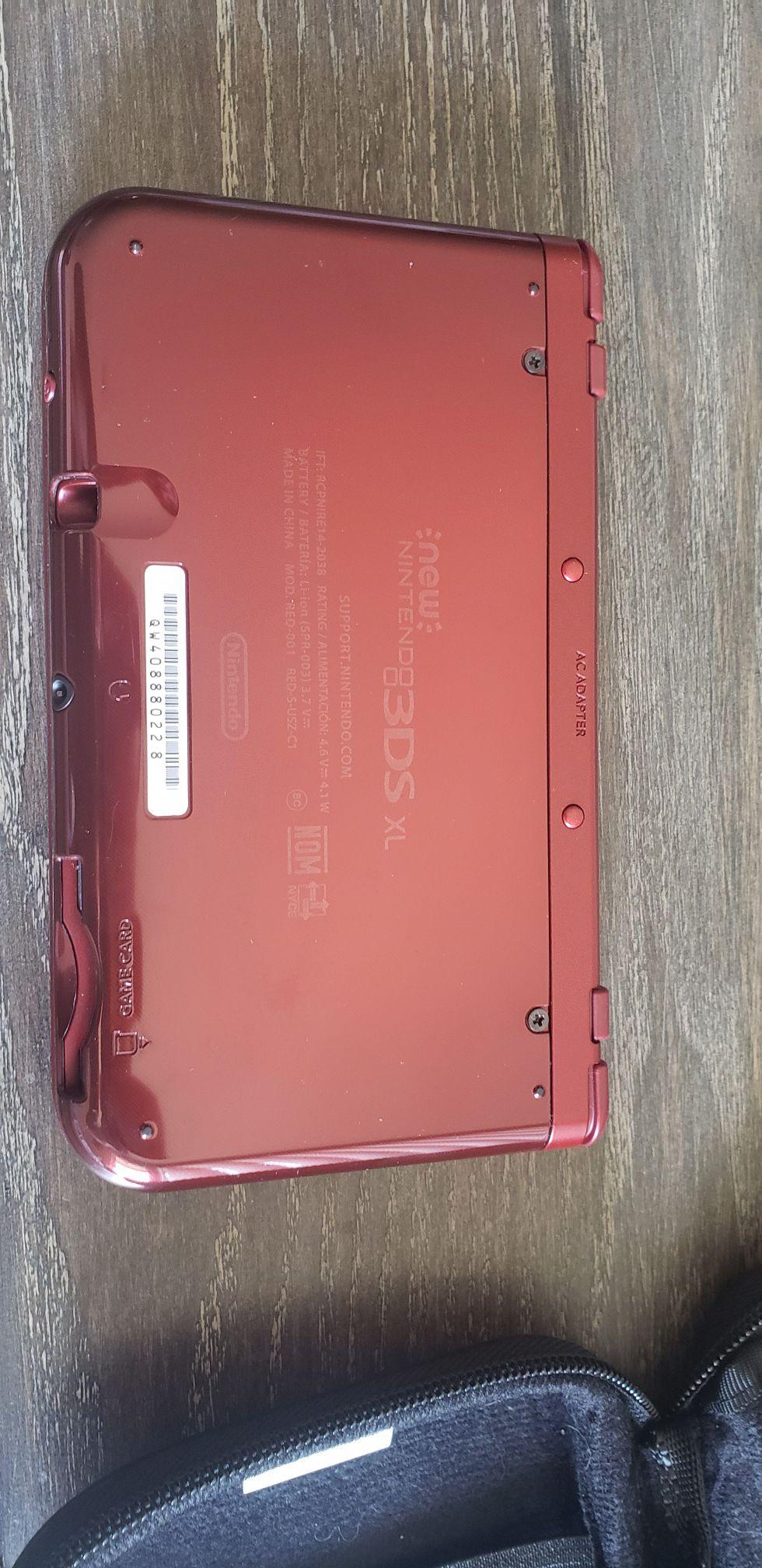 Nintendo 3DS XL console w/ 3 games