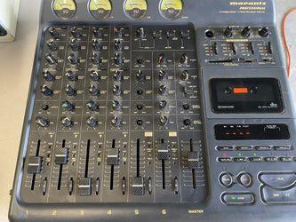 USED MARANTZ  PROFESSIONAL 6 CHANNEL MIXER/4TRCK RECORDER PMD 740 Thumbnail