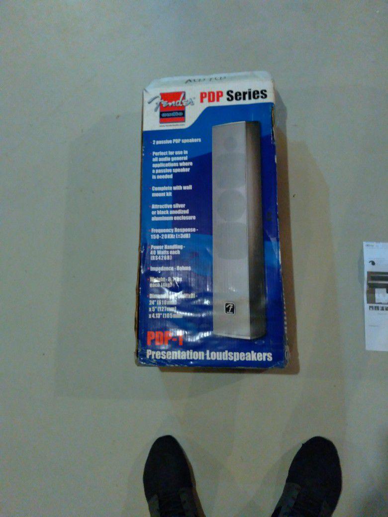 Fender P D P Series Speakers