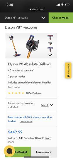 Dyson V8 Vacuum Thumbnail