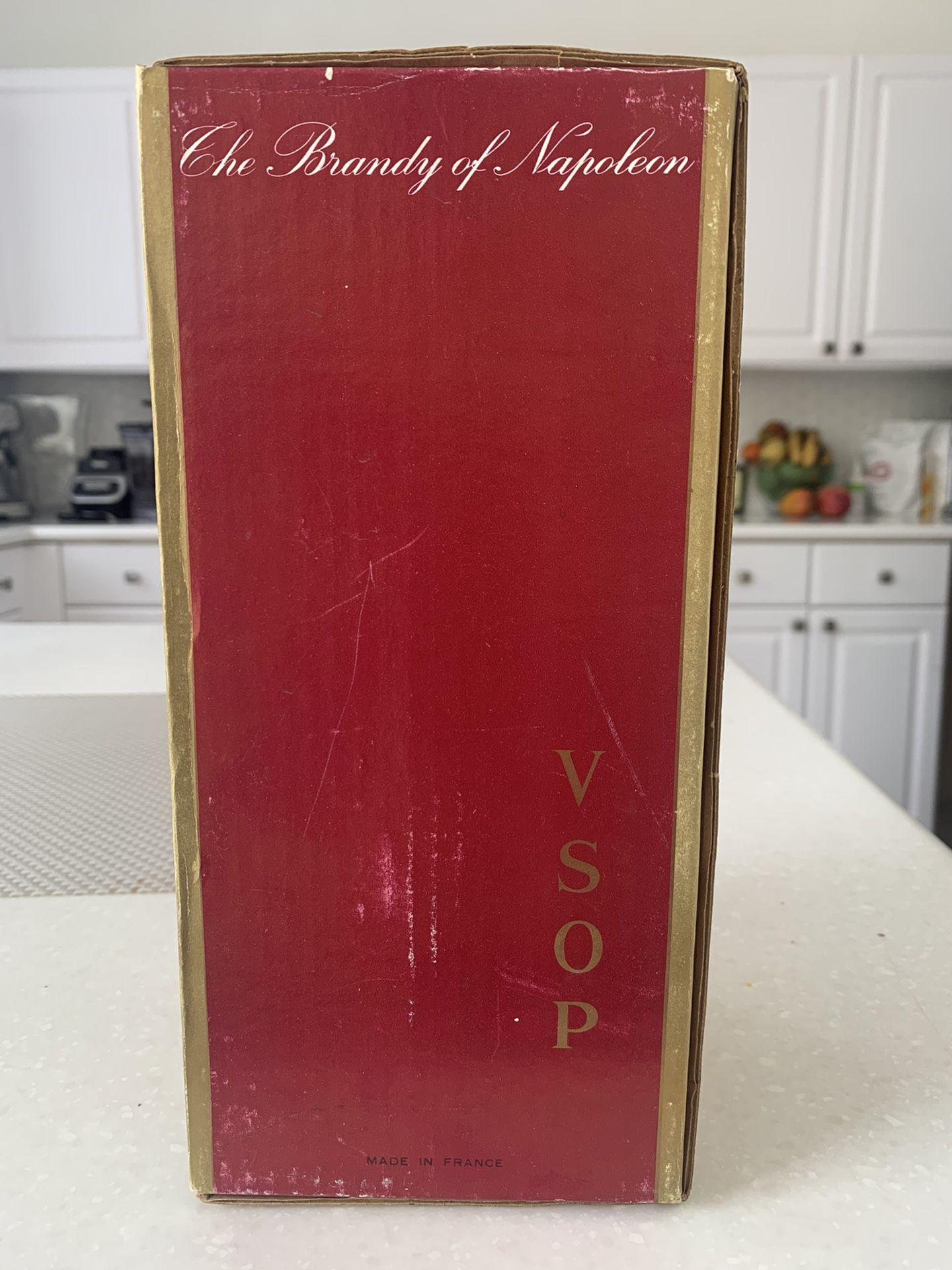 1970s Cognac Courvoisier VSOP unopened Collectors