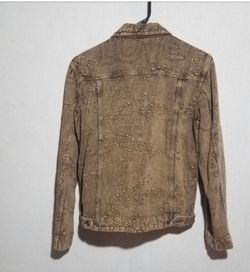 Chico's brown jacket size 2 Thumbnail