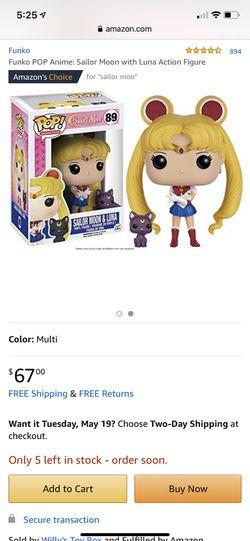 Sailor Moon POP! 89 Sailor Moon & Luna 295 Chibi Moon Thumbnail