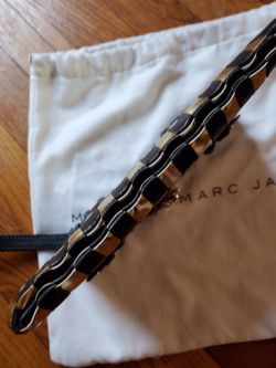 Marc By Marc Jacobs Check Leather Wristlet Thumbnail