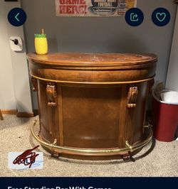 Free Standing Bar And Game Table Thumbnail
