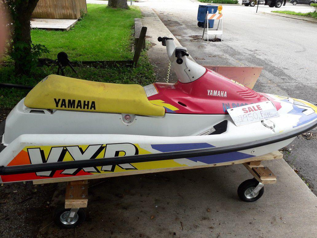 Yamaha vxr wave runner