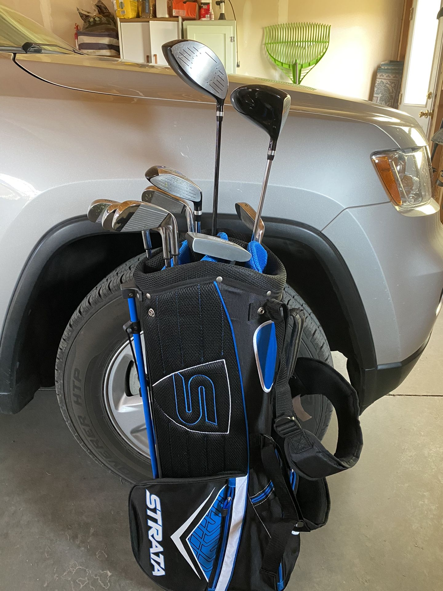 Left-handed golf clubs men's