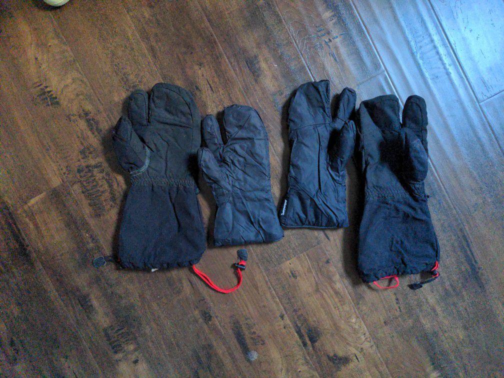 Marmot Goretex Three Finger Glove/Mitten