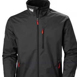 Helly Hansen Crew Mid layer Fleece Lined Waterproof Jacket/ Size M Thumbnail
