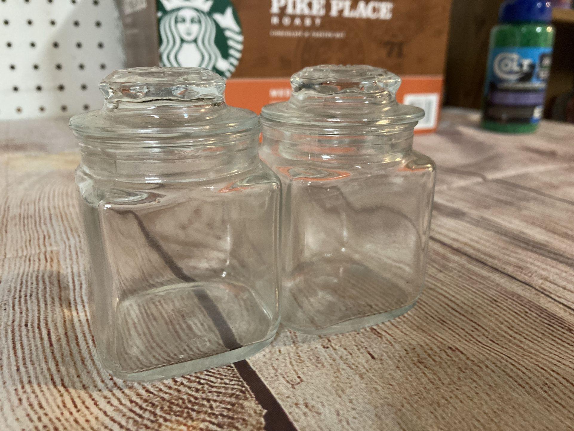 Cute Glass Jars! (20 Jars Total)