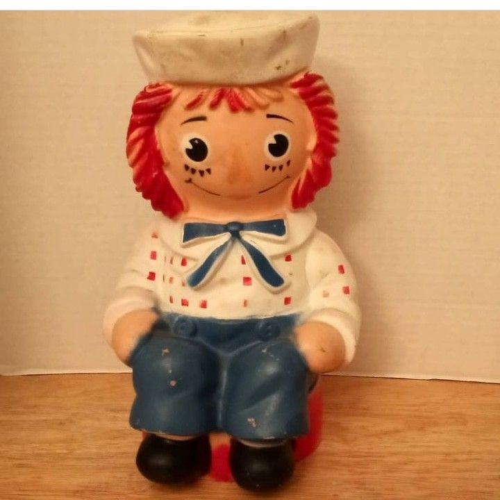 1972 Raggedy Andy Bank