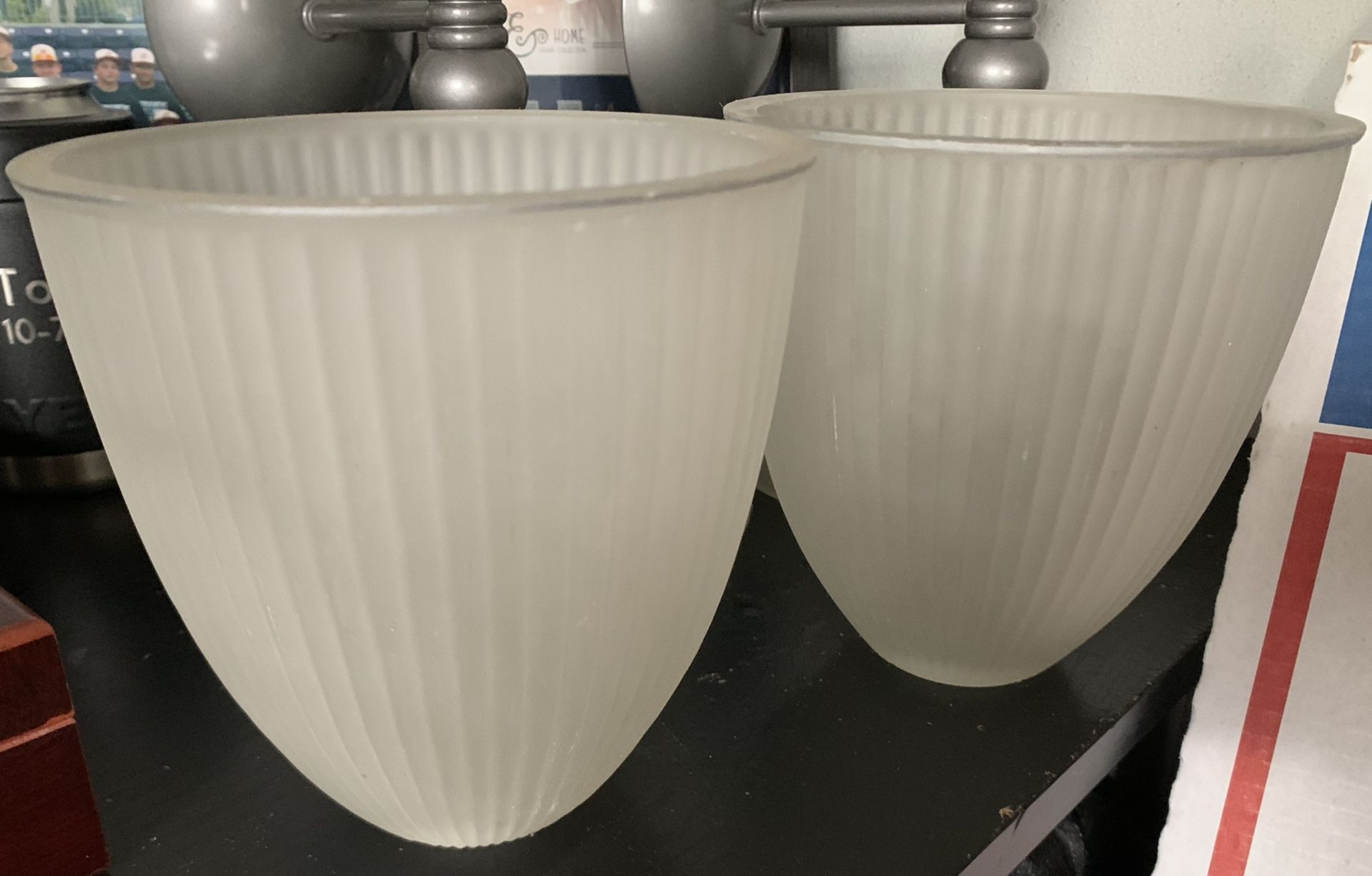 Partylite candle holder wall sconces
