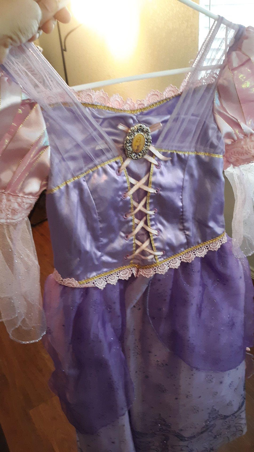 Disney store Rapunzel costume dress