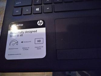 New hp laptop Thumbnail