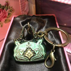 Pretty! New ! Purse Key Chain / Purse Charm Thumbnail