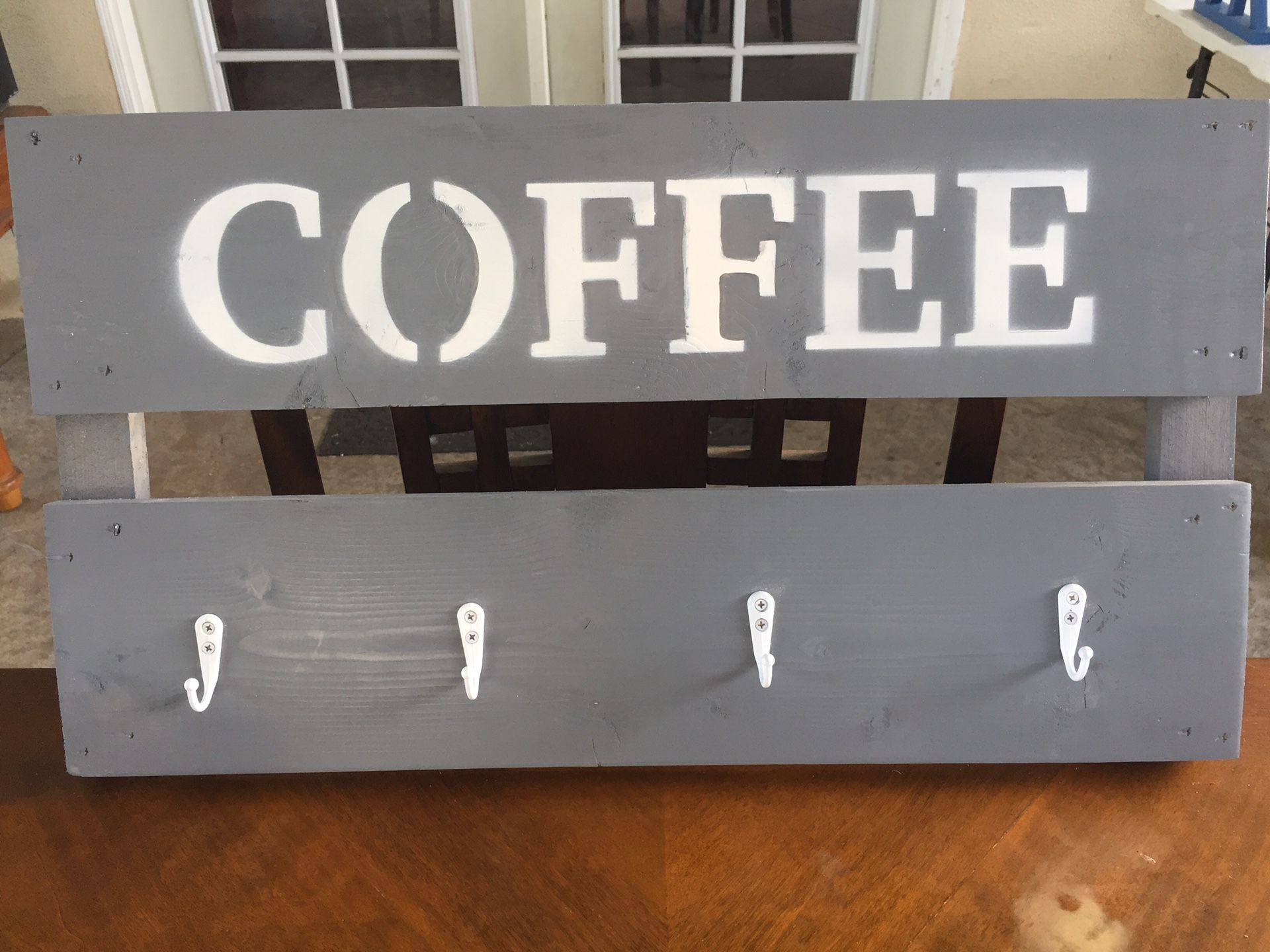 Coffee rack holder