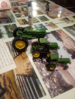 3 John Deere Tractors Thumbnail