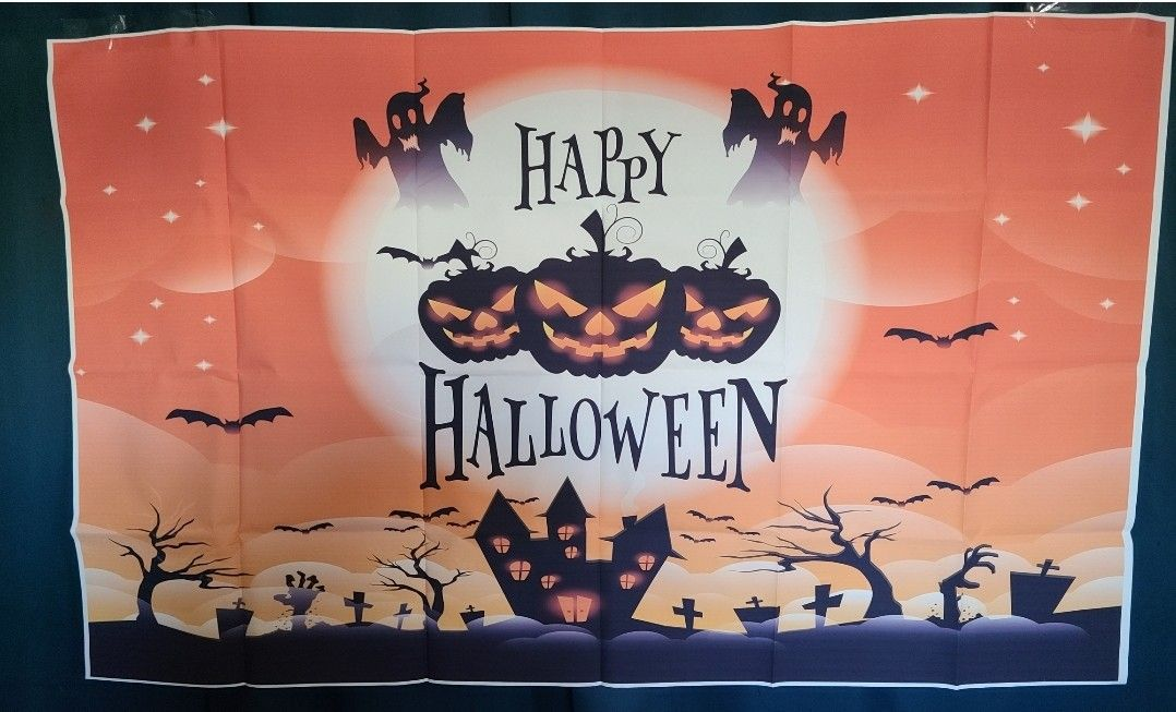 Halloween Backdrop Halloween Decorations