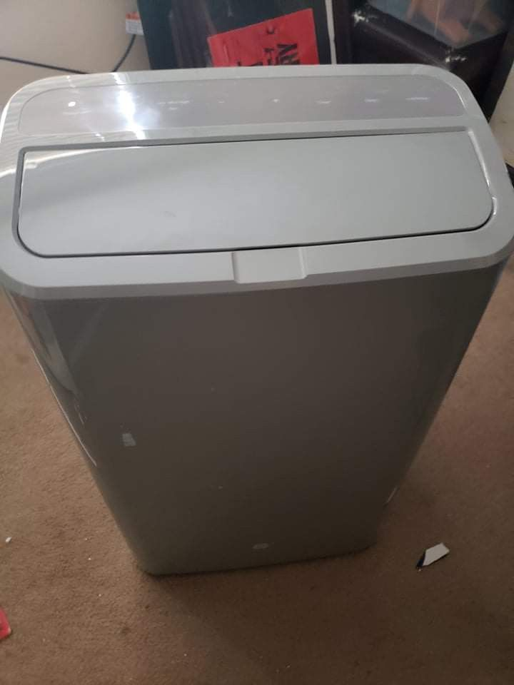 GE 4 In 1 Portable ac With Heat