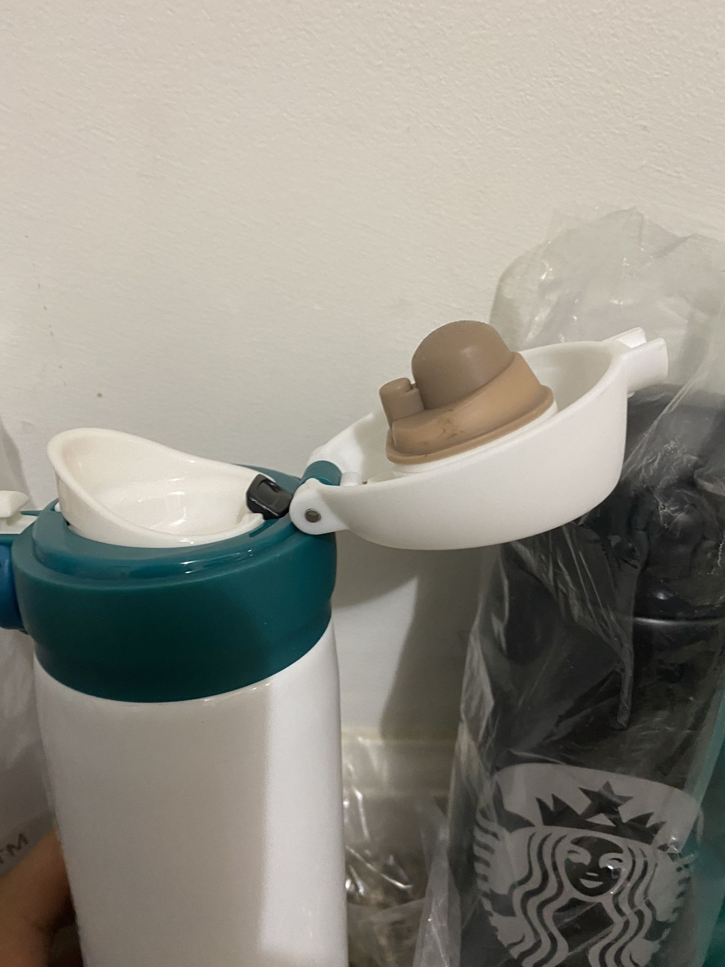 STARBUCKS COFFEE STAINLESS STEEL CUPS 16OZ