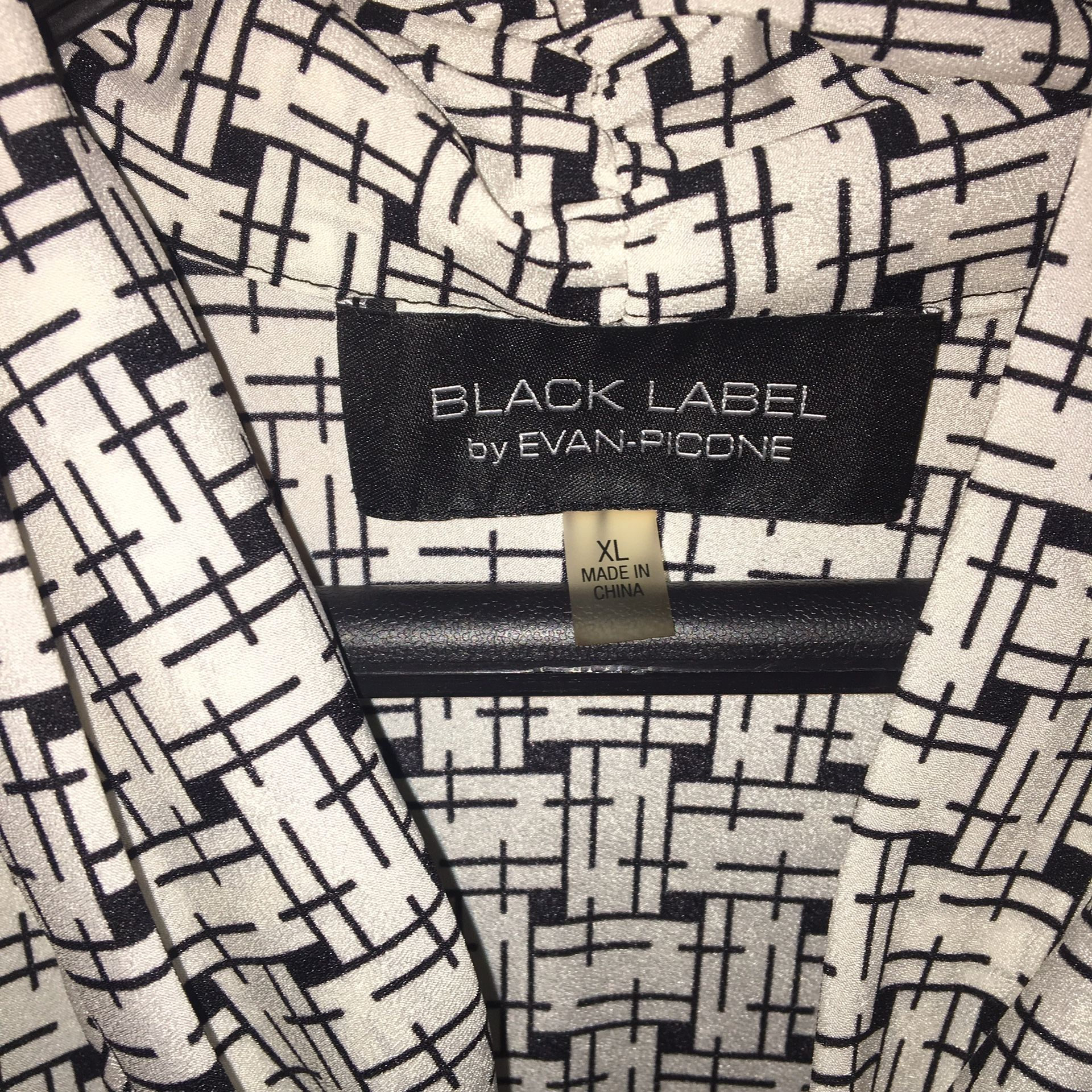 Black label size XL by Evan Picone like new