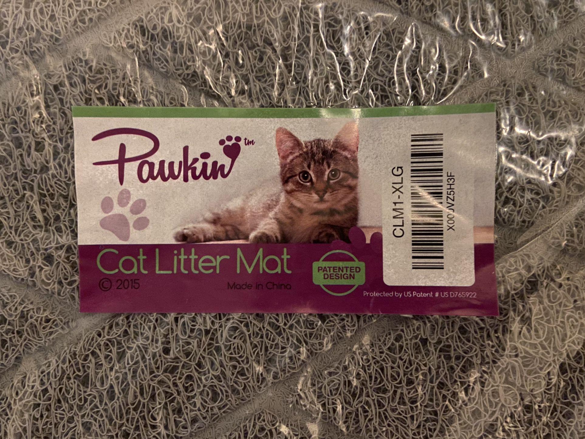 NEW Pawkin XL Litter Mat