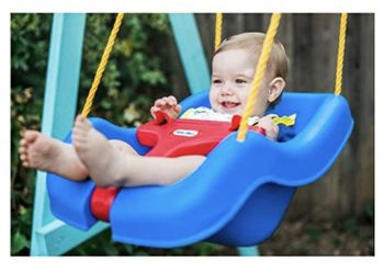 Little Tikes Blue Swing $12 Thumbnail
