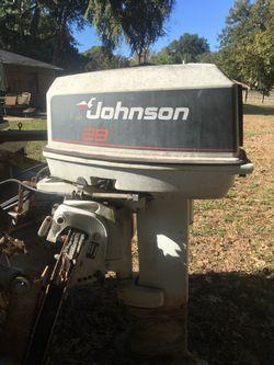 Johnson 28spl outboard motor Thumbnail