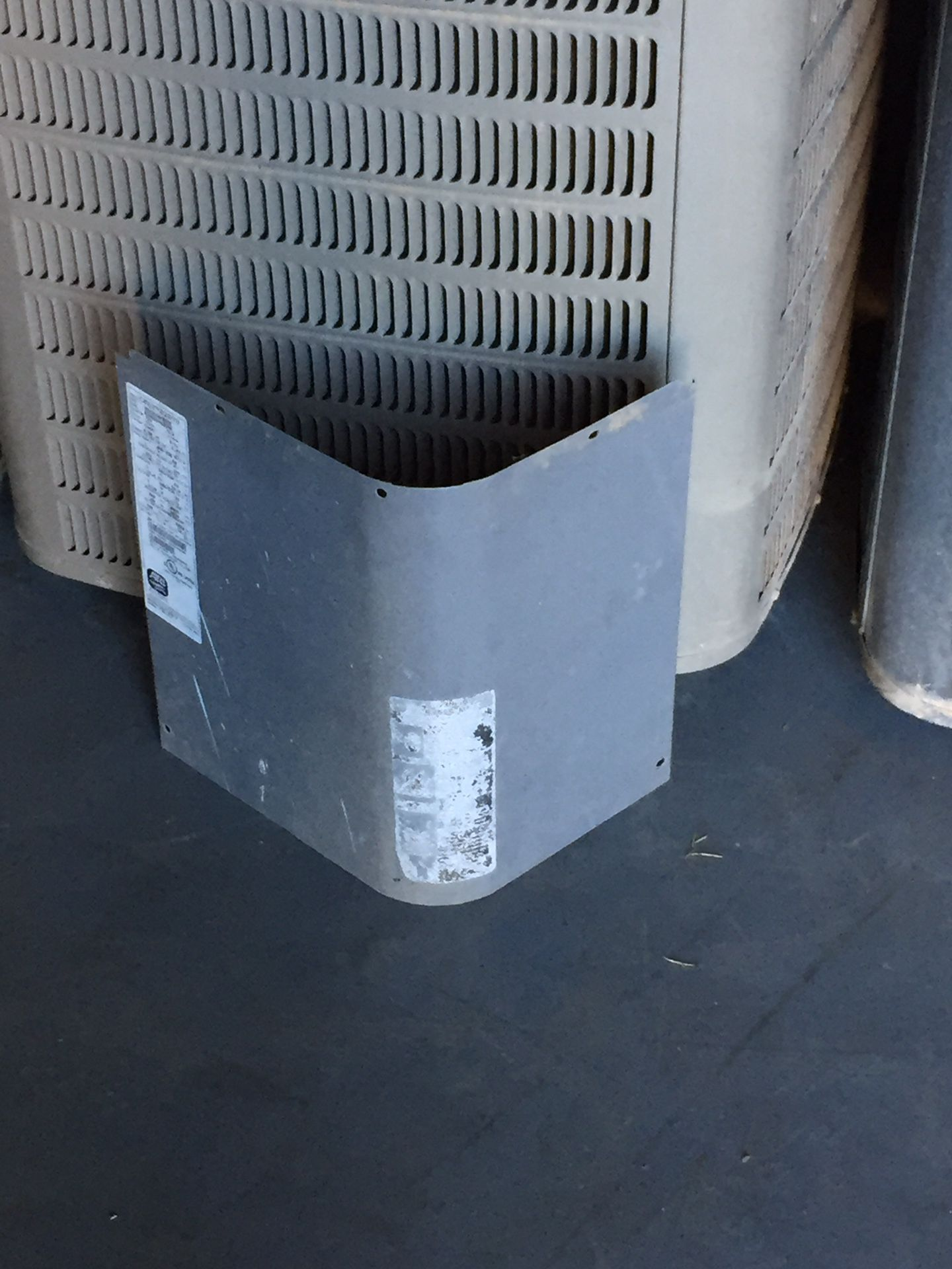 Tempstar AC condenser cover plate