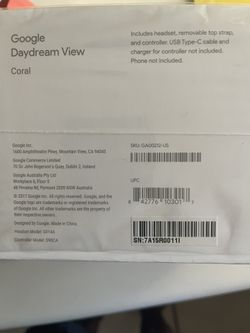 Google Daydream VR, Coral Color Thumbnail