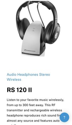 Sennheiser Bluetooth Headphones  Thumbnail