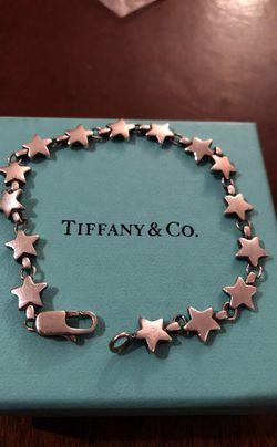 VINTAGE TIFFANY STAR BRACELET! Thumbnail