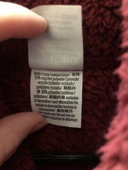 Victoria Secret Pink Teddy Sherpa Zip Up Jacket  Thumbnail