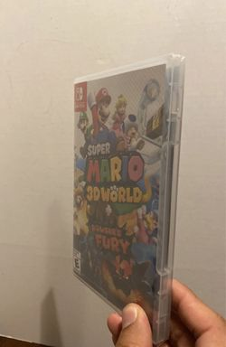 Nintendo Switch games Sealed bundle  Mario Golf  Luigi's Mansion 3 Super Mario 3D World Browser's Fury Thumbnail