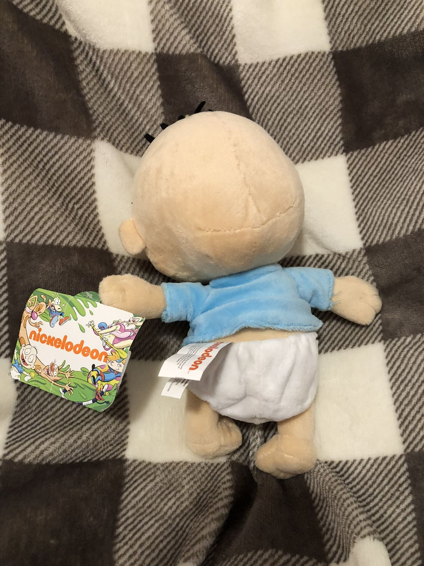NEW Nickelodeon Rugrats Tommy Plush 11 inch