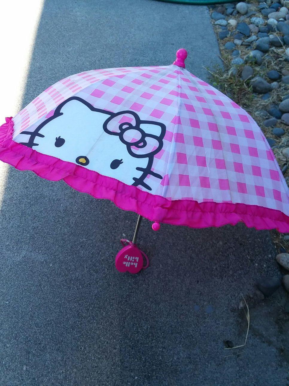 Small child's umbrella