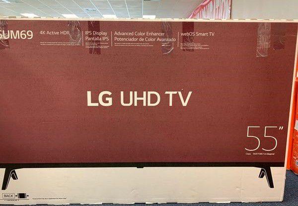 Brand New 55 UHDTV LG Open box w/ warranty PKWJ