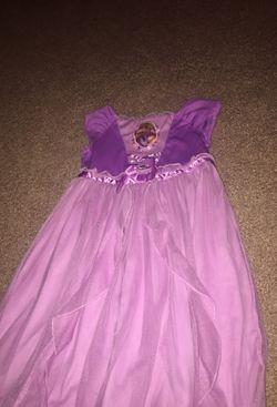 Disney rapunzel dress/night gown Thumbnail