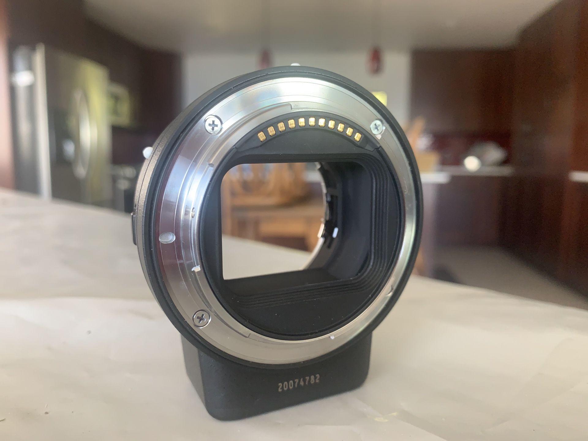 Nikon- Mount Adapter FTZ