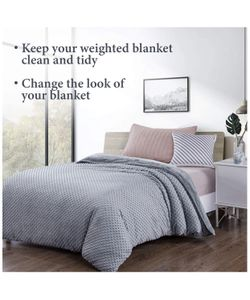 Duvet Cover for Weighted Blankets Thumbnail