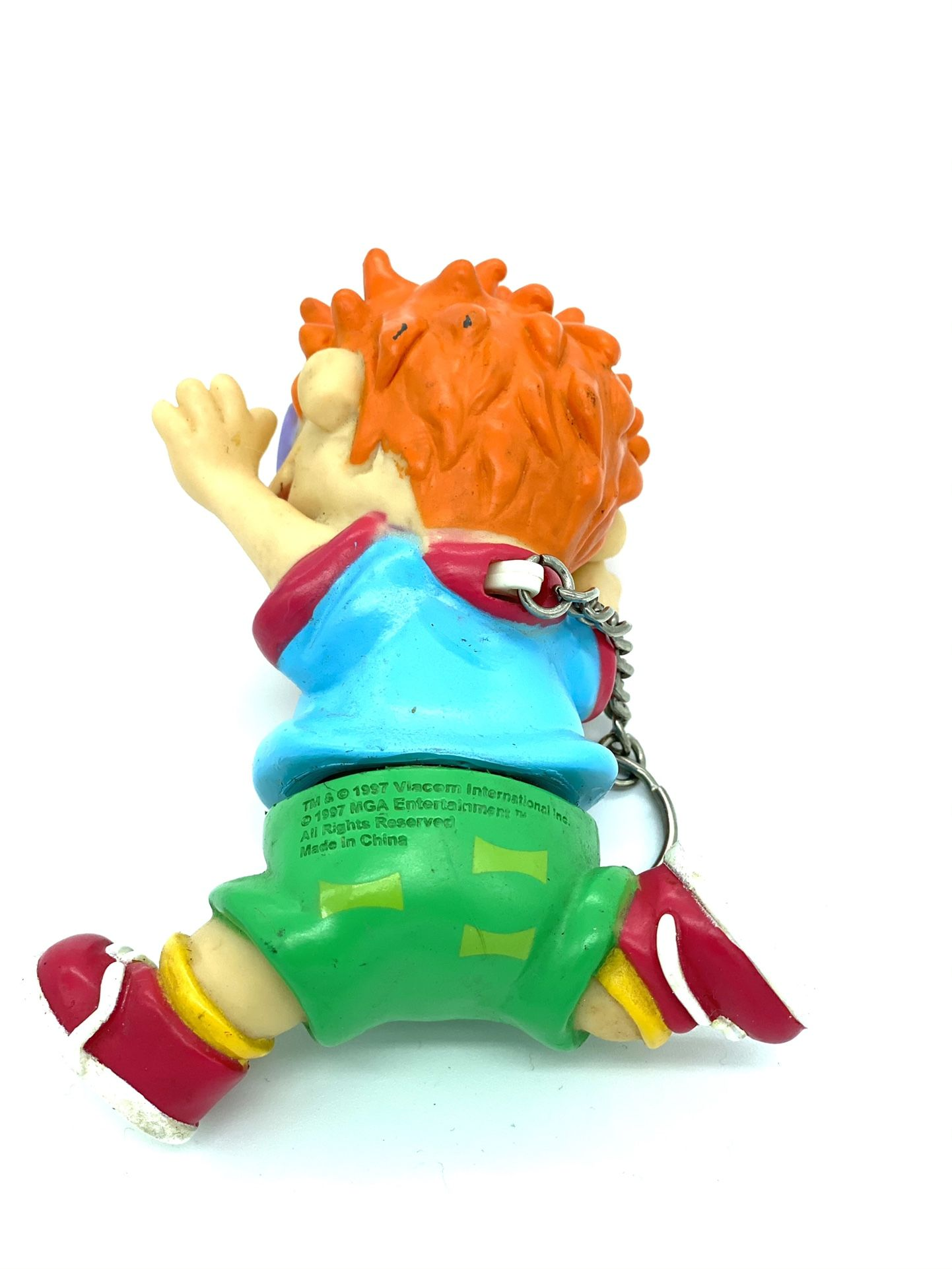 Chucky Rugrats Keychain 1997 Viacom MGA Entertainment