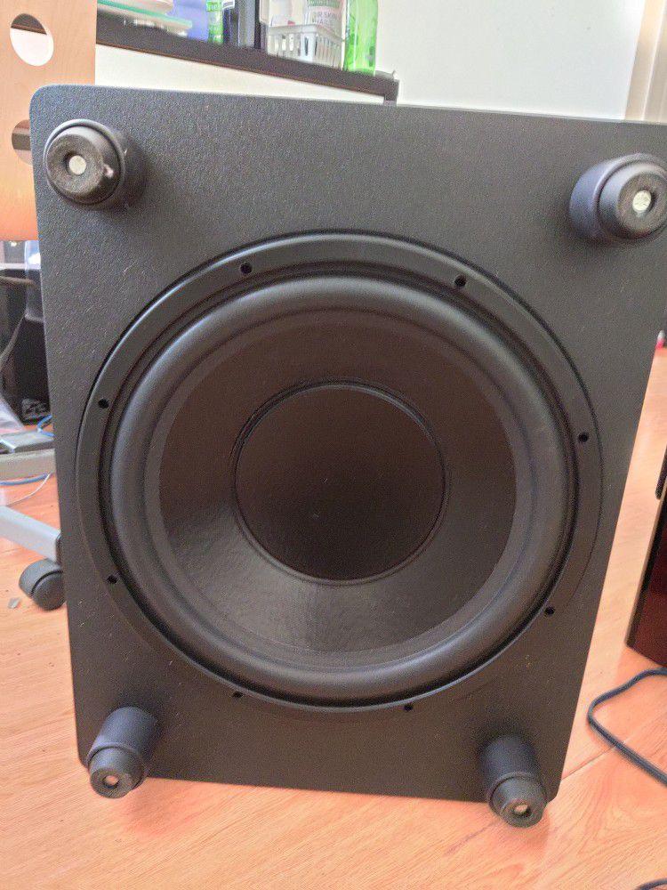 Power Sound Audio XV15 Subwoofer - Svs, Hsi Research, Outlaw Audio, Emotiva, Parasound, Klipsch, Polk, Rotel, Adcom, Naim