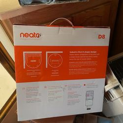 250$ New In Box Neato D8 Brand New Selling Cheap  Thumbnail