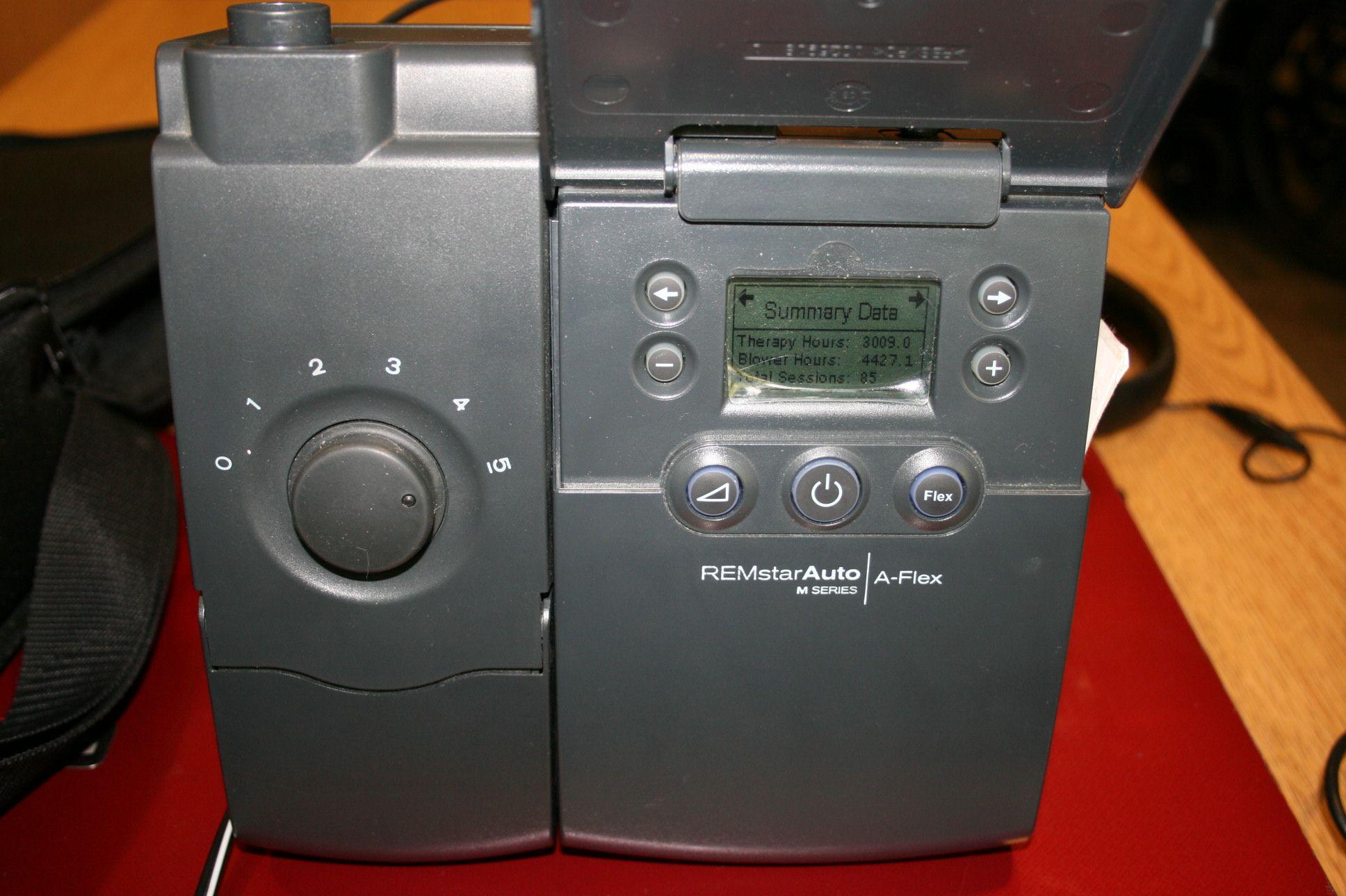 CPAP A-Flex Auto machine Remstar SeriesM